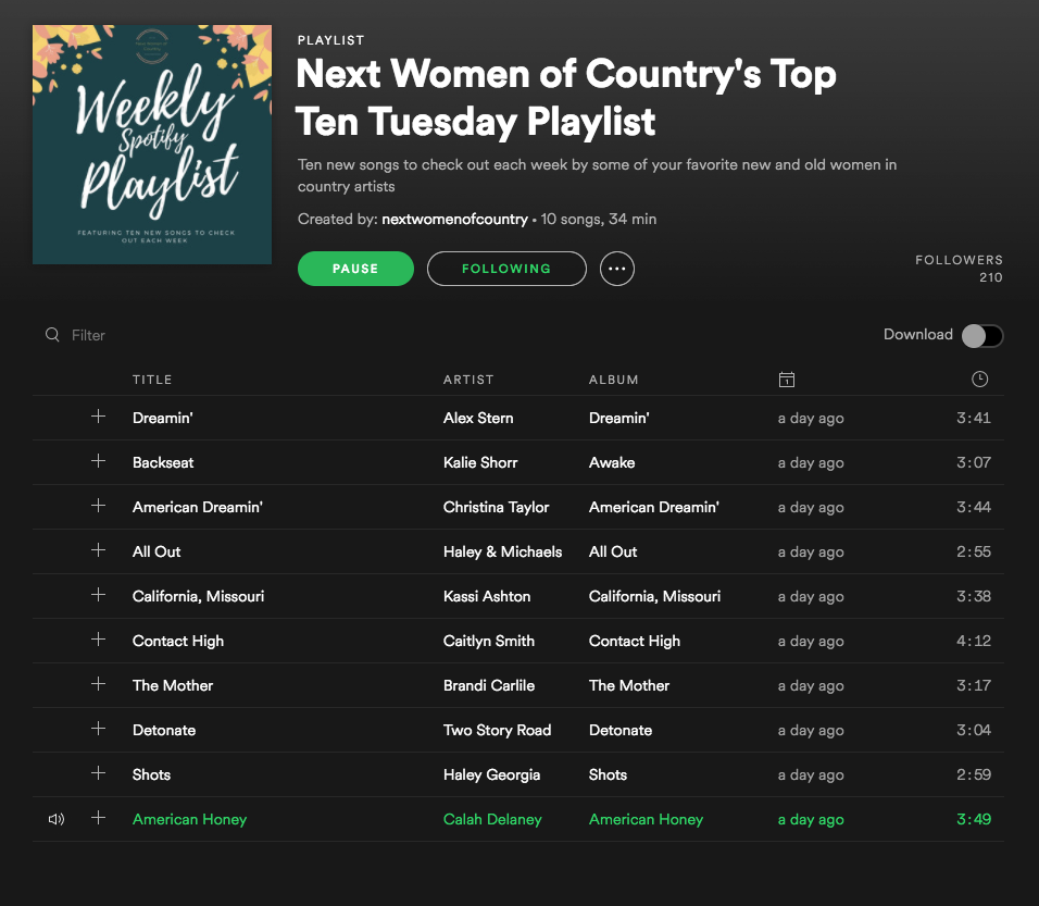 Calah Delaney   Women in Country Music
