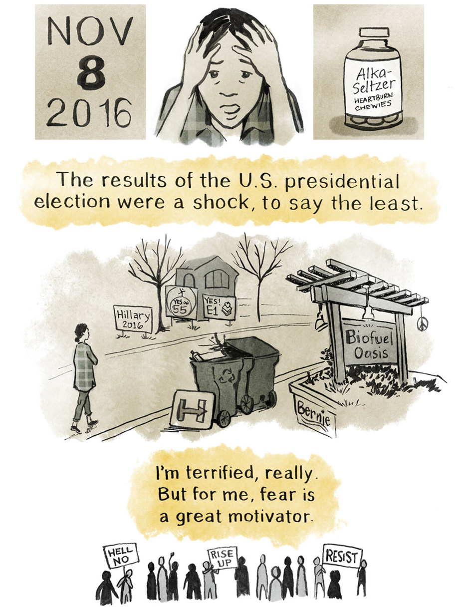 Fear Is a Good Motivator for Political Action - The Nib, January 2017