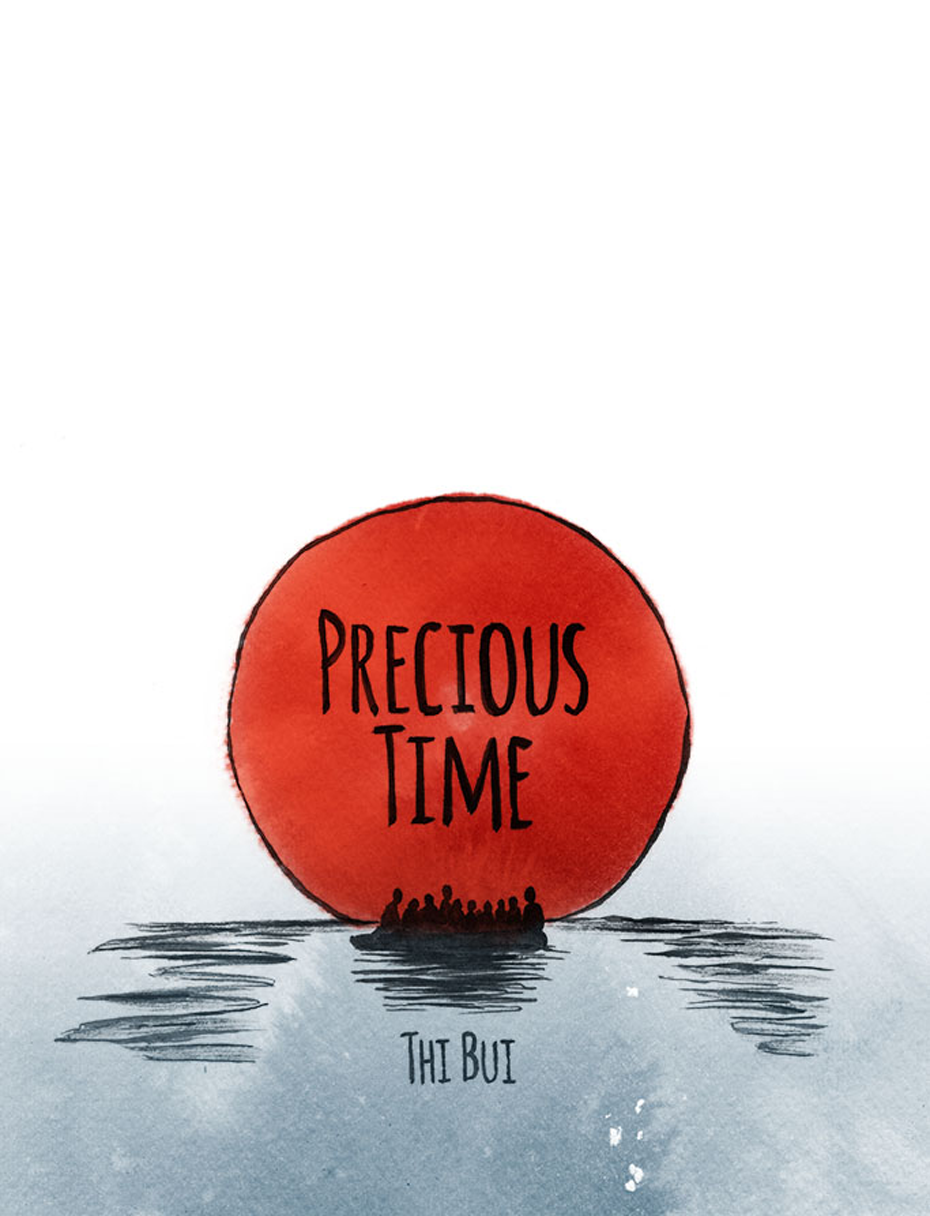 Precious Time - A short comic commissioned by PEN America for PEN: State of Emergency (January 2017)