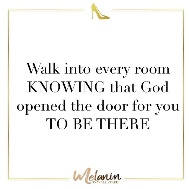 Listen, It doesn't matter if you've been interviewing with different ceos, Hiring Managers,emailing your resume for a new role, Companies and recruiters prospecting you on Linkden, and getting invited to events. Just know that GOD opened the door and WILL open more doors for you to be where you need to be.  Happy Saturday! 💗 #Melaninonwallstreet