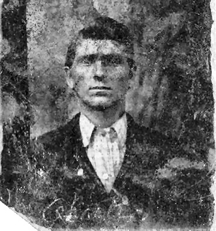 Tintype of Charles Jr.