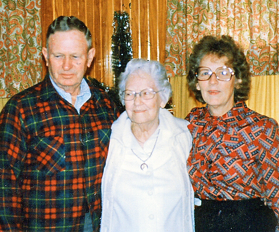 Emil Lee Rubley (Son of Clarence) w Margaret (Mother) and Edna (2nd Wife)