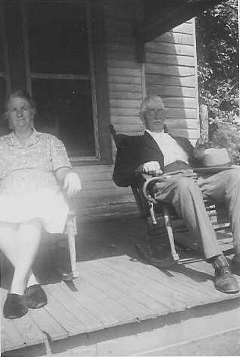 Cora Thomas Rubley &  H. Clem Thomas (Father)