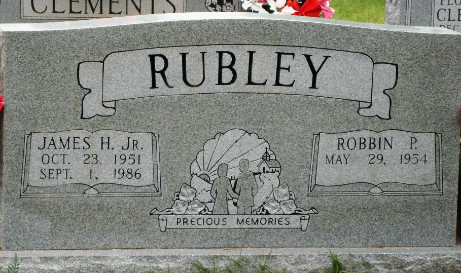 James Harold Rubley Jr.  (Grandson of James Louie Rubley)