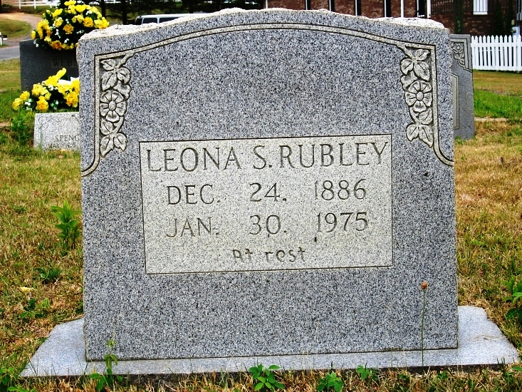 Leona Manasco Rubley  (Wife of Albert Rubley)