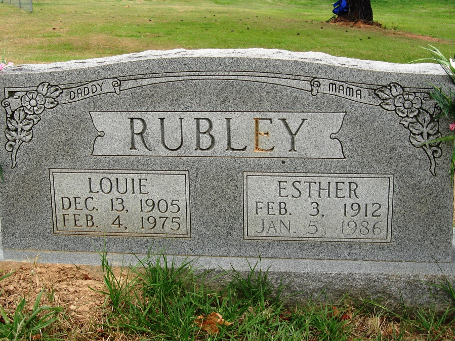 James Louie Rubley  (Son of Albert Rubley)