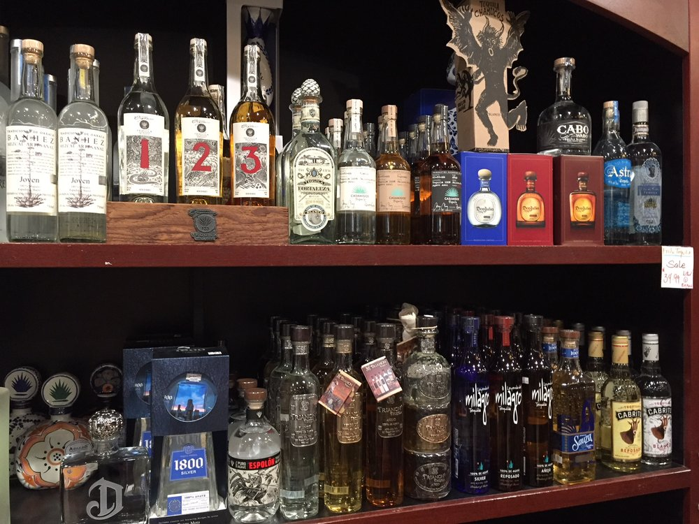 Expanded Tequila section