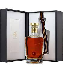 JOHN WALKER & SONS    KING GEORGE V   Regal and luxurious, this limited edition opulent whisky from the John Walker and Sons range is created in a style to reflect the finest whiskies of  King George V  reign.