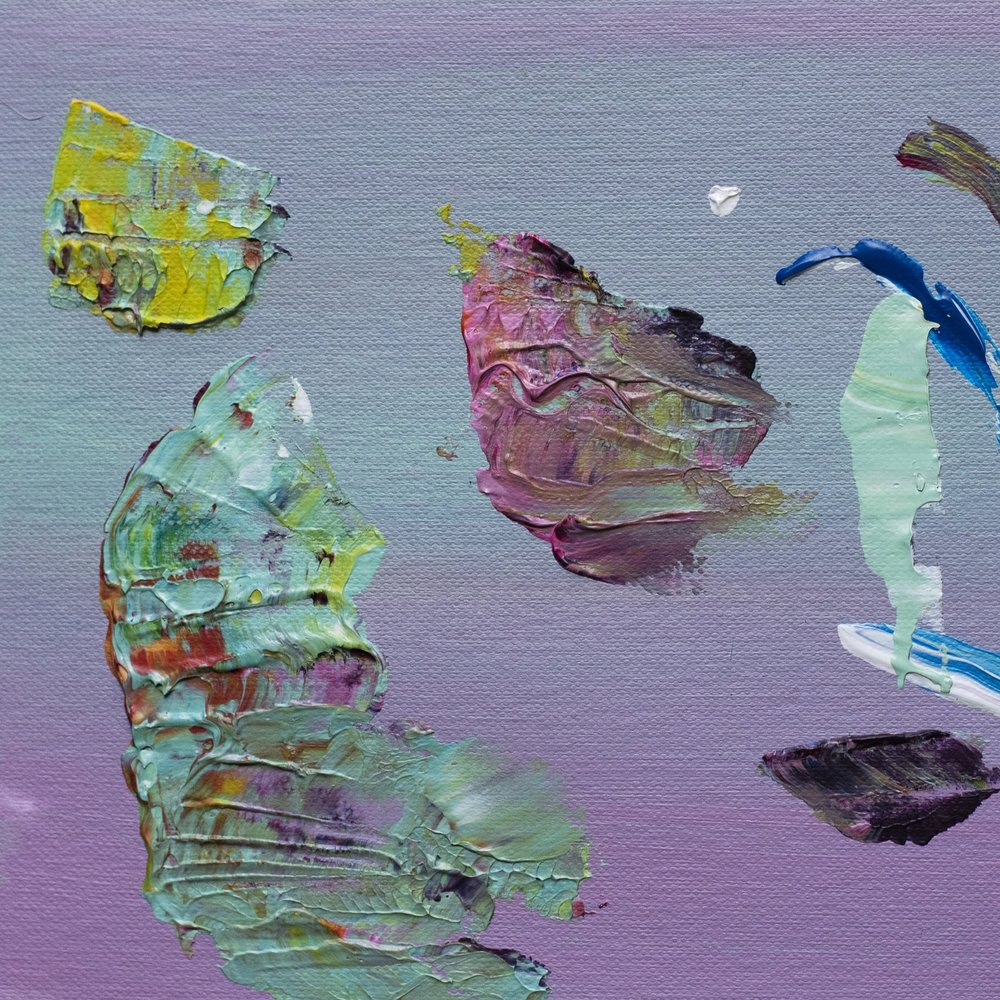 Acrylic on paper -