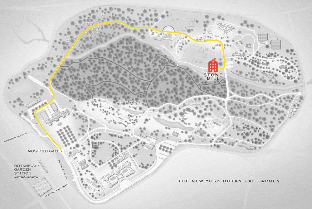 Map Of New York Botanical Garden.Details Adri Nick 4 14 18