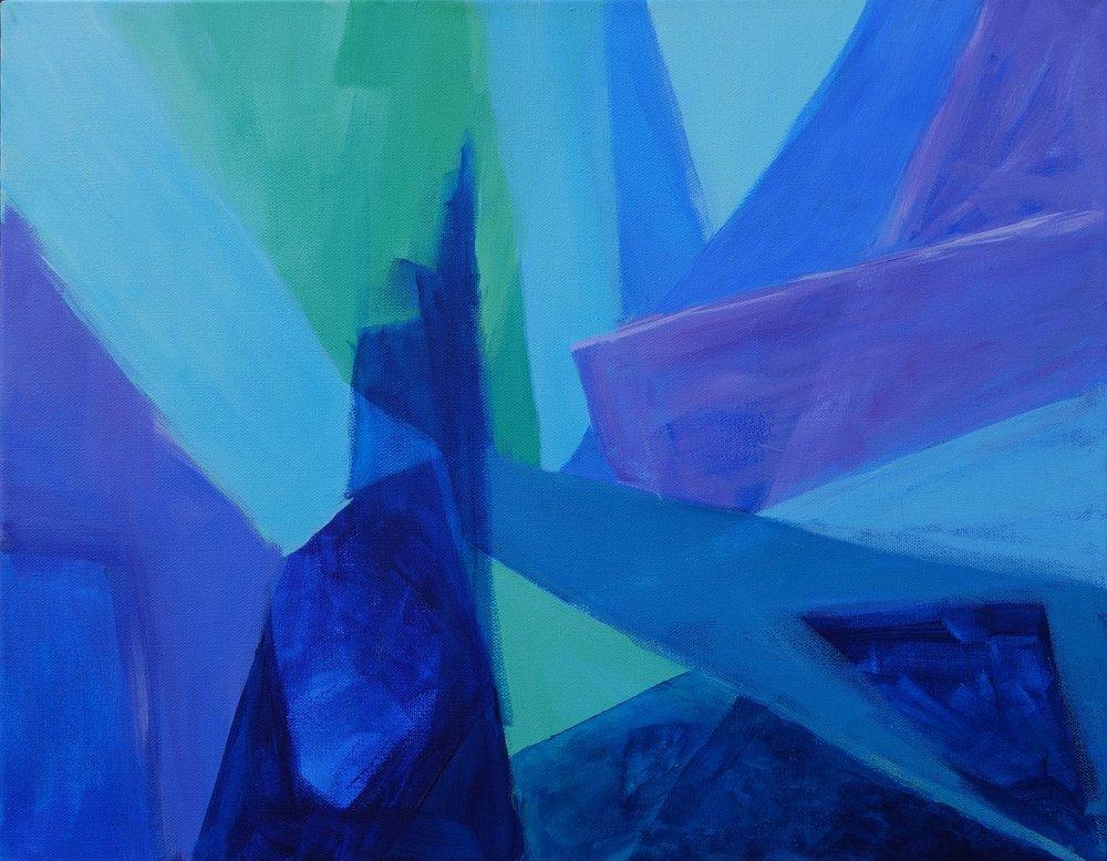 Blue Etude #3, Quadrilaterals