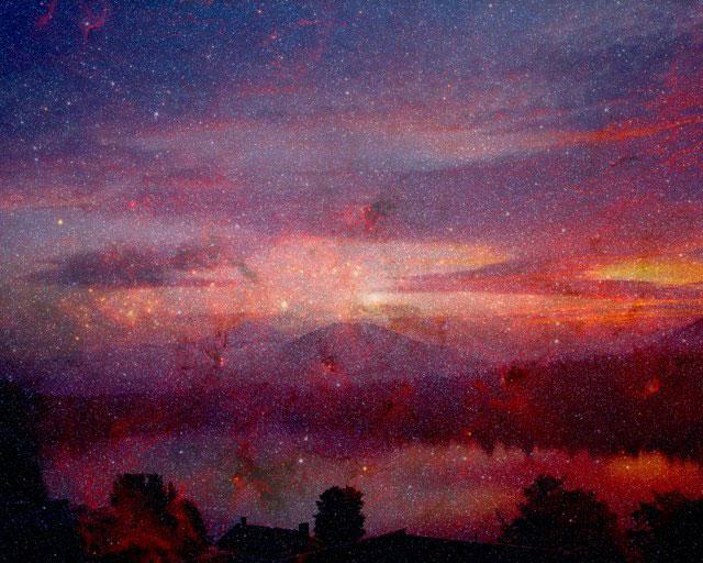 Mirror Lake Galaxy