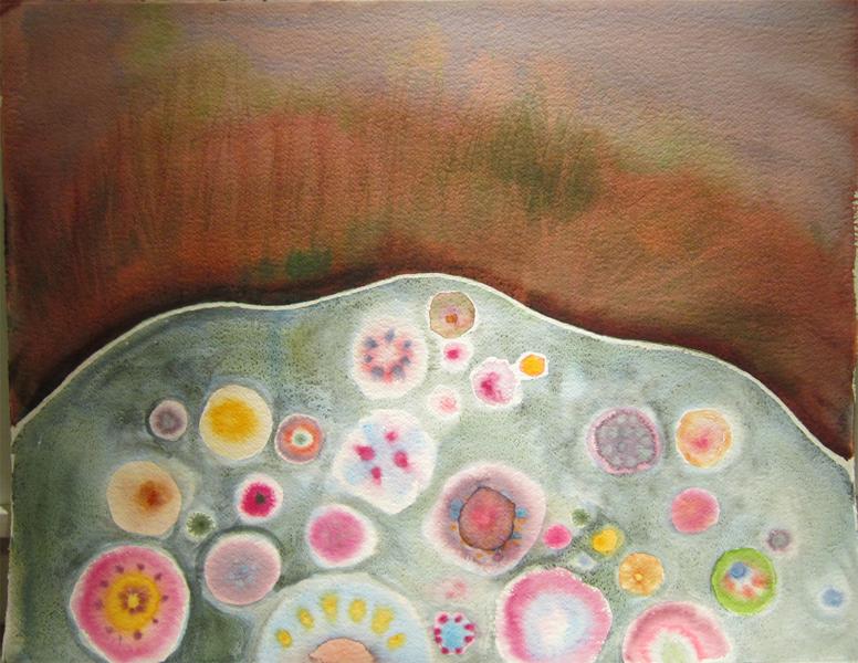 Crabbe's Garden, watercolor