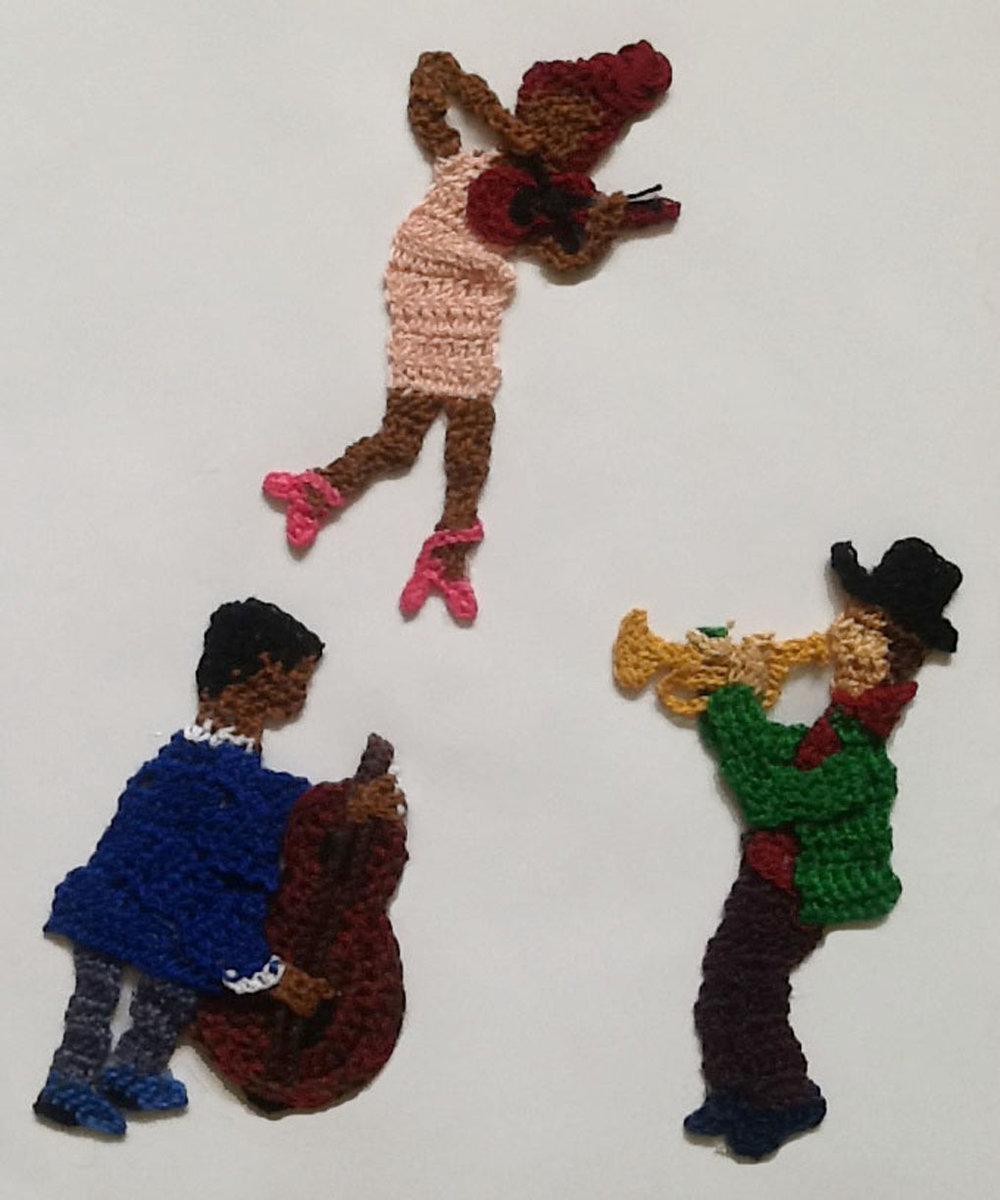 Crocheted Illustration