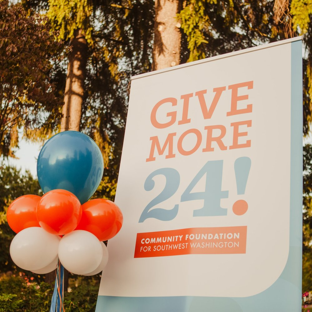 Thank You to the Give More 24! Donors