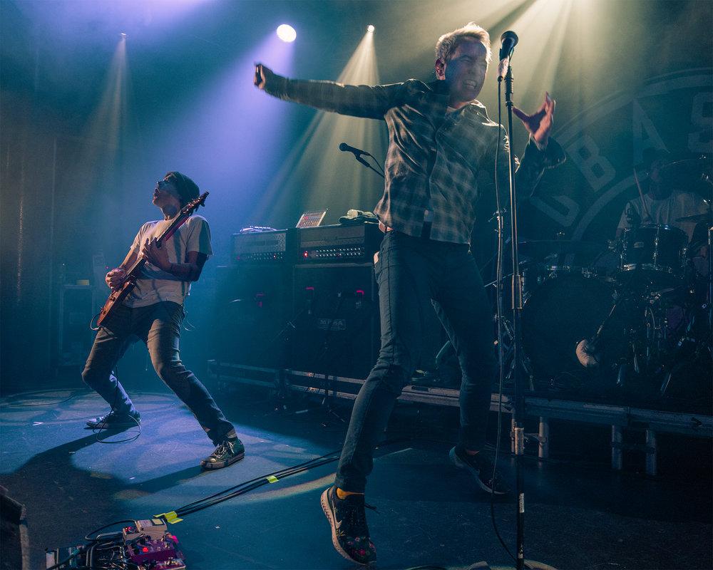 Buckcherry and Hoobastank Co-headliner Hit Rock City in Nottingham