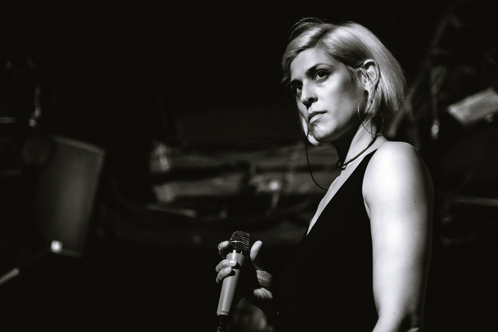 Dessa Performs at Le Poisson Rouge in New York City