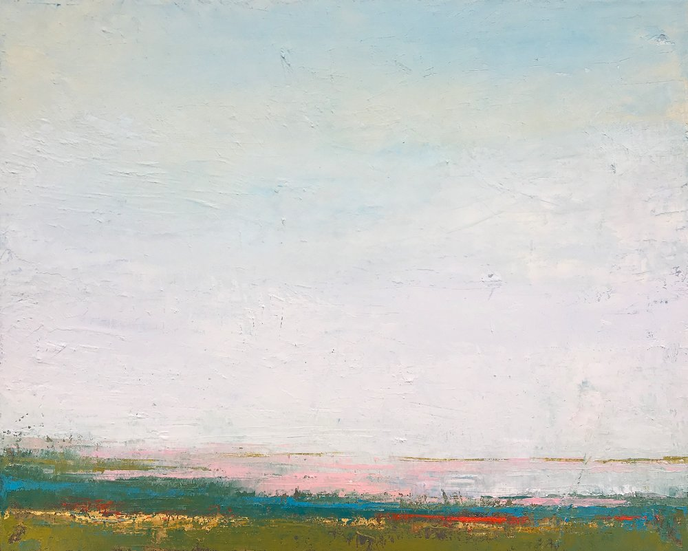 "Seachange • Oil on canvas • 12 x 16"""