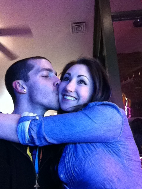 """This photo was actually taken on the night I said """"I love you"""". I wanted to make sure I documented that great moment"""