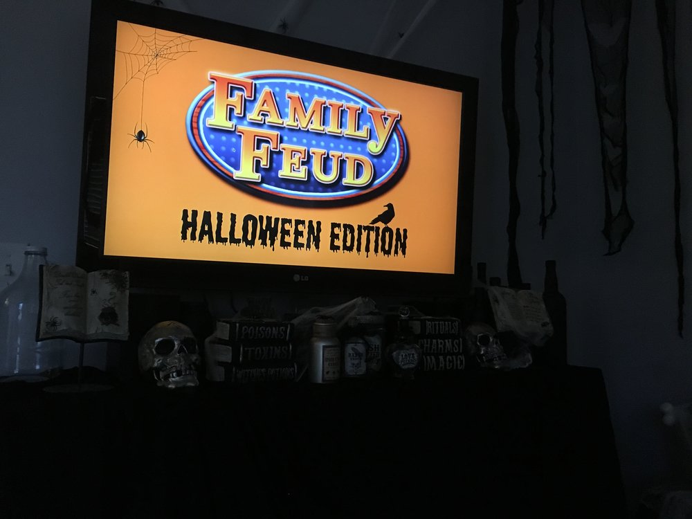 Family Feud Halloween Game