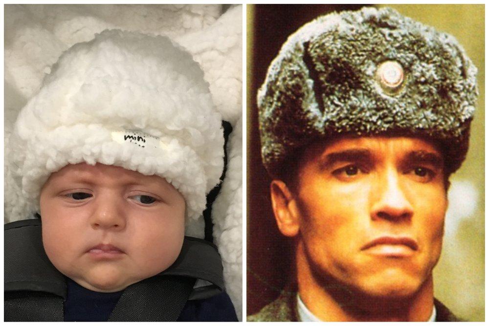 I think Baby Bird is more menacing than Arnold Schwarzenegger