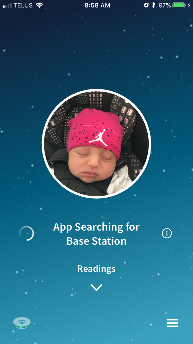This alert happens almost every single time you open the app. When it can't find the base station you have to reset it