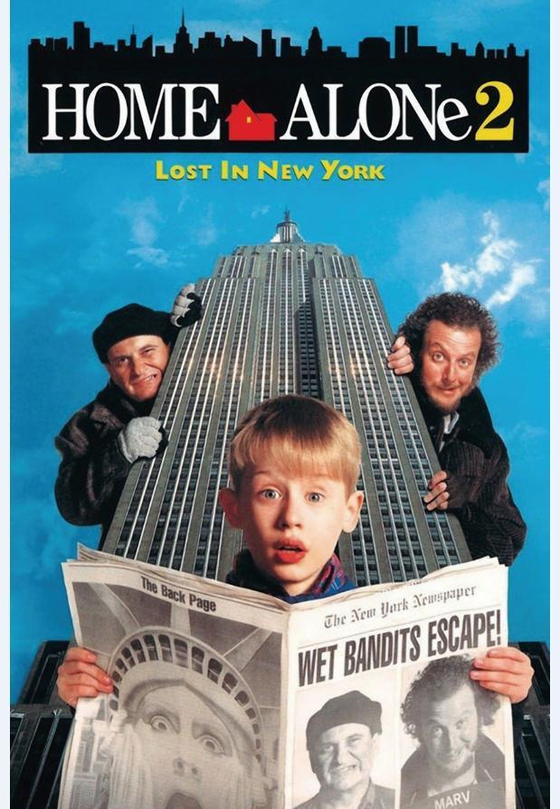 8. Home Alone 2