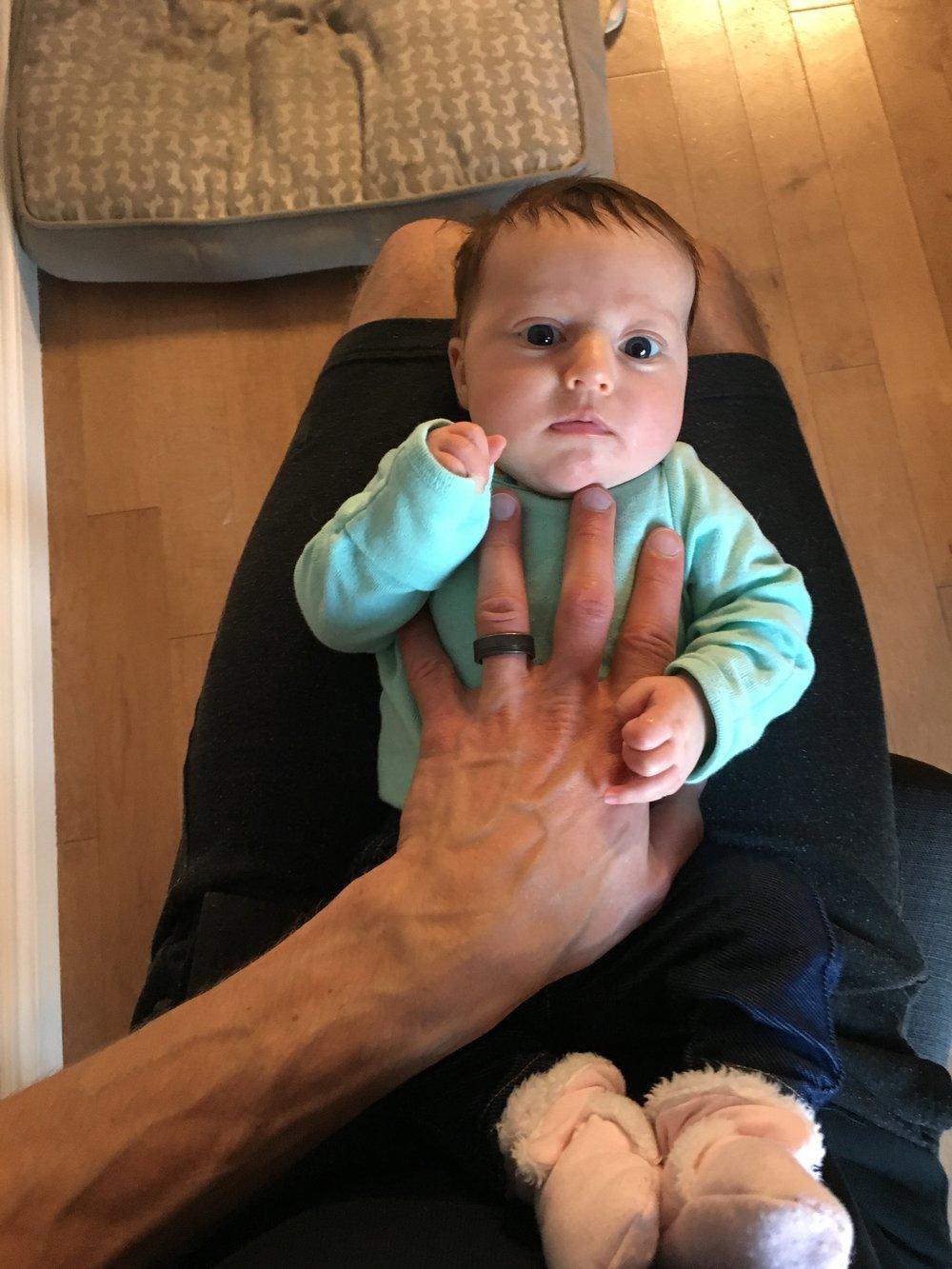 Baby Bird Hand Hand Comparison