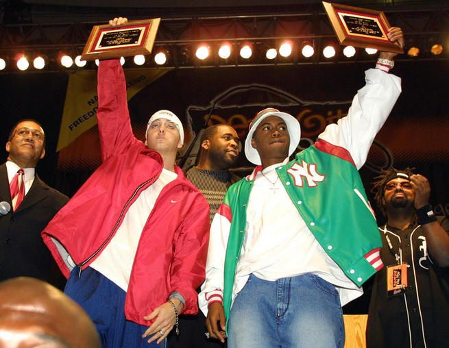 Eminem and Nas