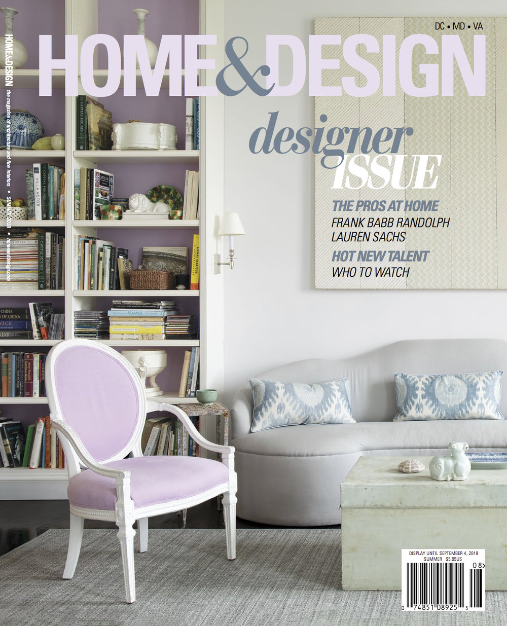 HOME & DESIGN, JULY/AUGUST 2018