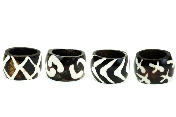 #4:Handmade Kenyan Napkin Rings - For the stylish host that has everything, these unique napkin rings are the prefect accessory.