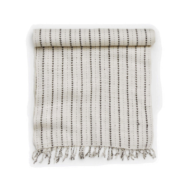 #5: Organic Silk Table Runner - Hand spun and handwoven on bamboo looms, this runner is a beautiful addition to any table.