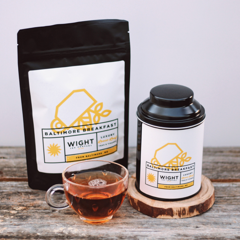 #9: Local Loose Leaf Tea - Enjoy our selection from of locally curated loose leaf tea from Baltimore's own Wight Tea Co.