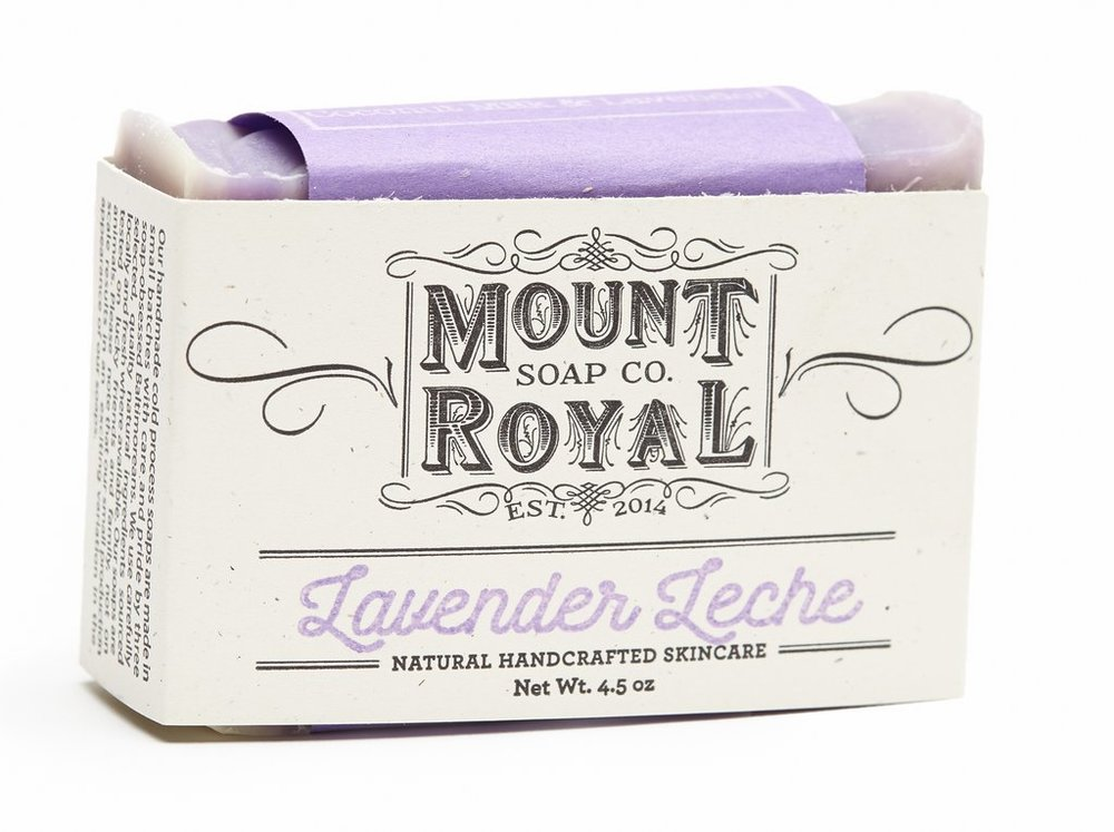Mount Royal Soap Lavender Leche