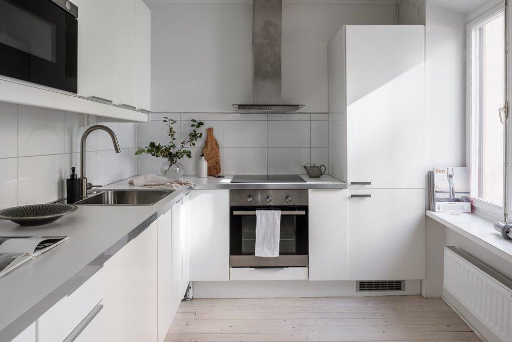 Laminate worktop kitchen