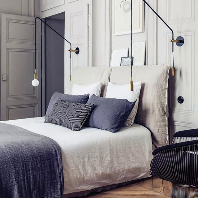 #Repost @rumhemma ・・・ #bedroom #bedroomdecor #wallpanelling #cushions #interior #interiordesign #dreambedroom #homedecor #instahome