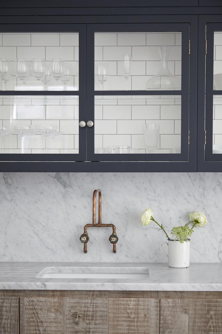 Retro kitchen tap