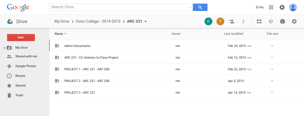 Google Drive's folder sharing is intuitive and makes it easy to add/remove people.