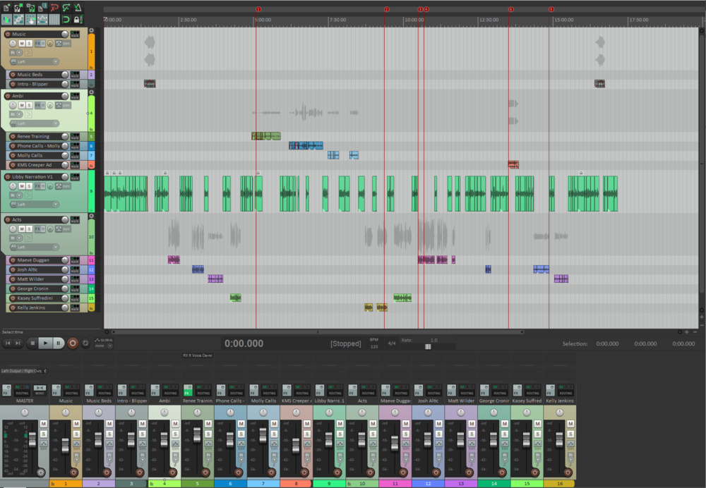 Our first draft of Backyard Cambridge Episode 2