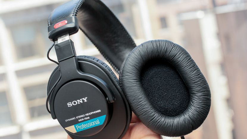 Sony MDR-7506 closed-back studio headphones