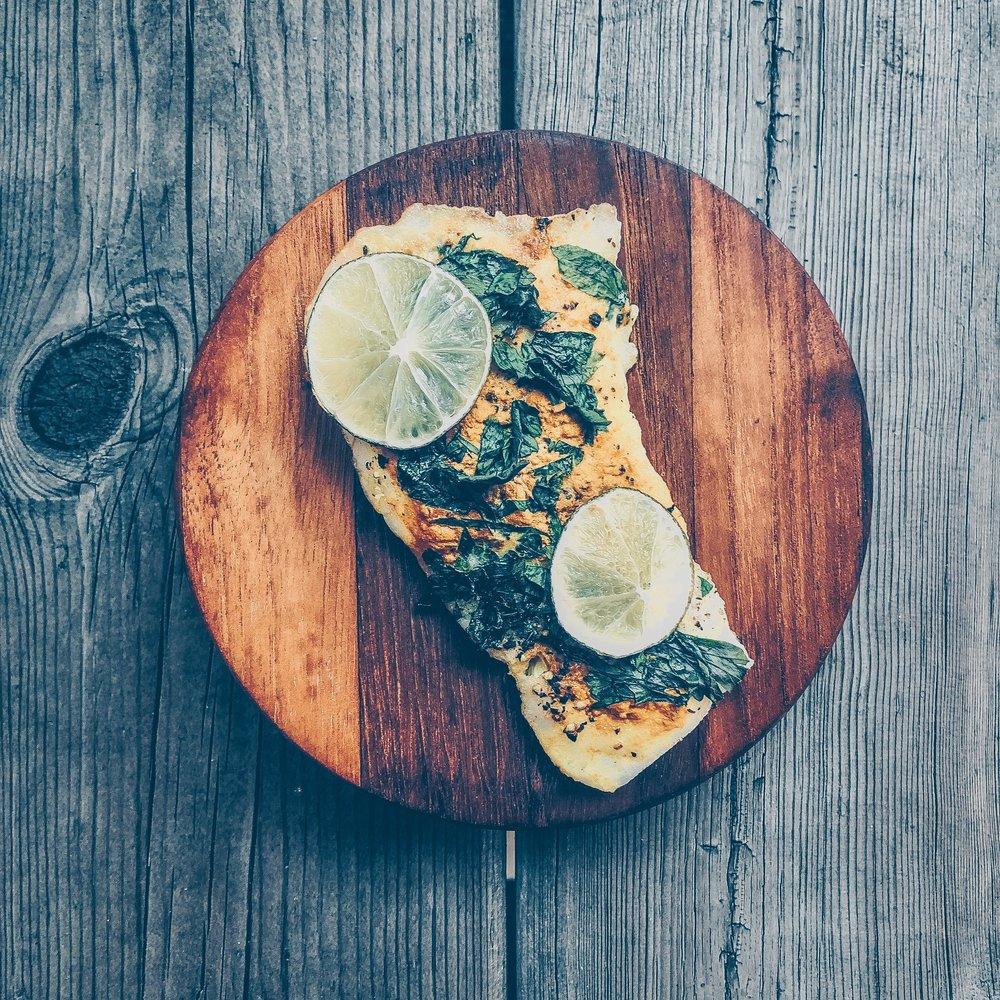 Turmeric Lime Baked Cod