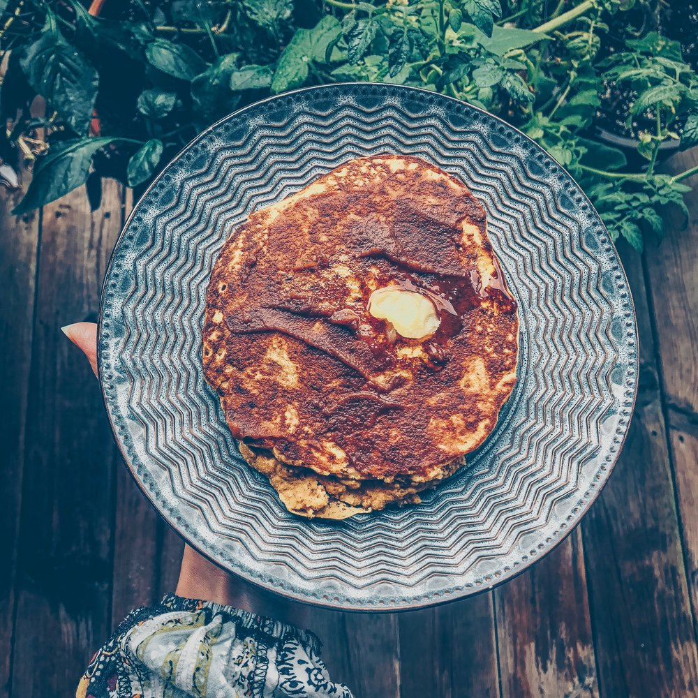 Simple Pumpkin Pancake