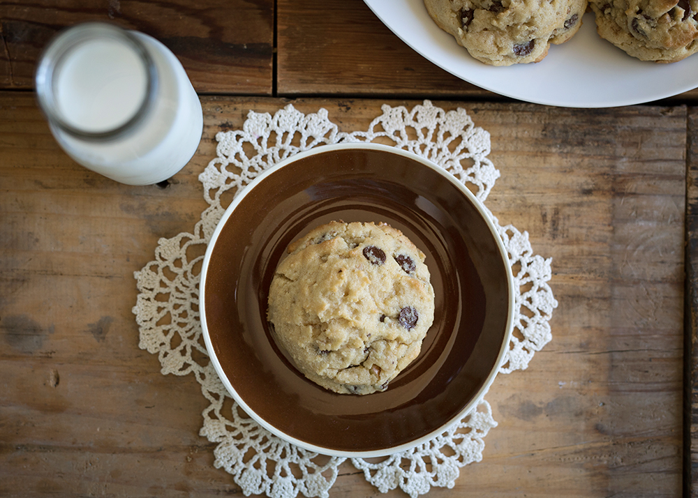 big. thick. soft. chewy. - The Best Pecan Chocolate Chip Cookie Recipe. Ever.