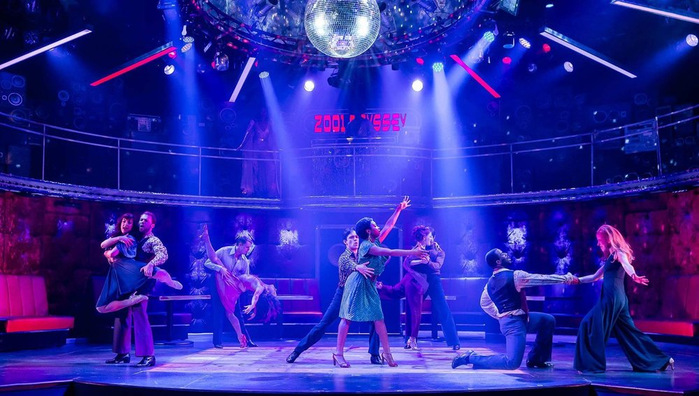 Saturday Night Fever at Drury Lane Theatre, photo by Brett Beiner