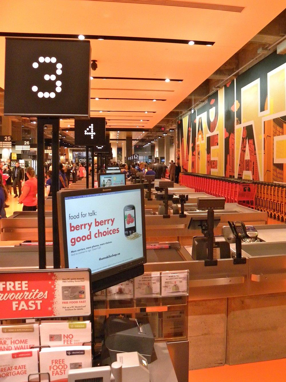 Self-service checkout (Photo credit: Jason Paris)