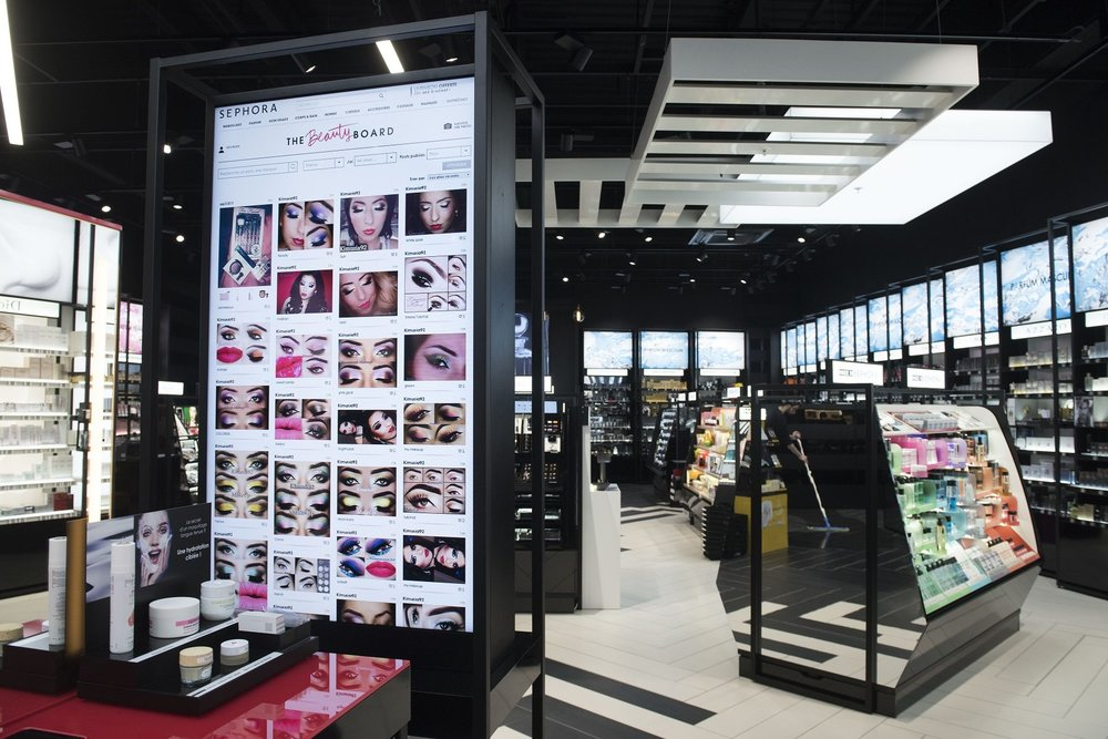 Sephora Beauty Board (Photo credit: Fashion Network)