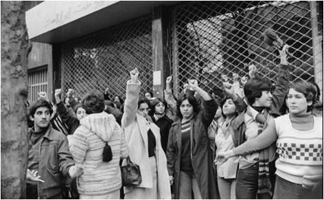 Tehran in the late 1970s, where women dominated pre-revolutionary streets of Tehran. (CityLab.com )