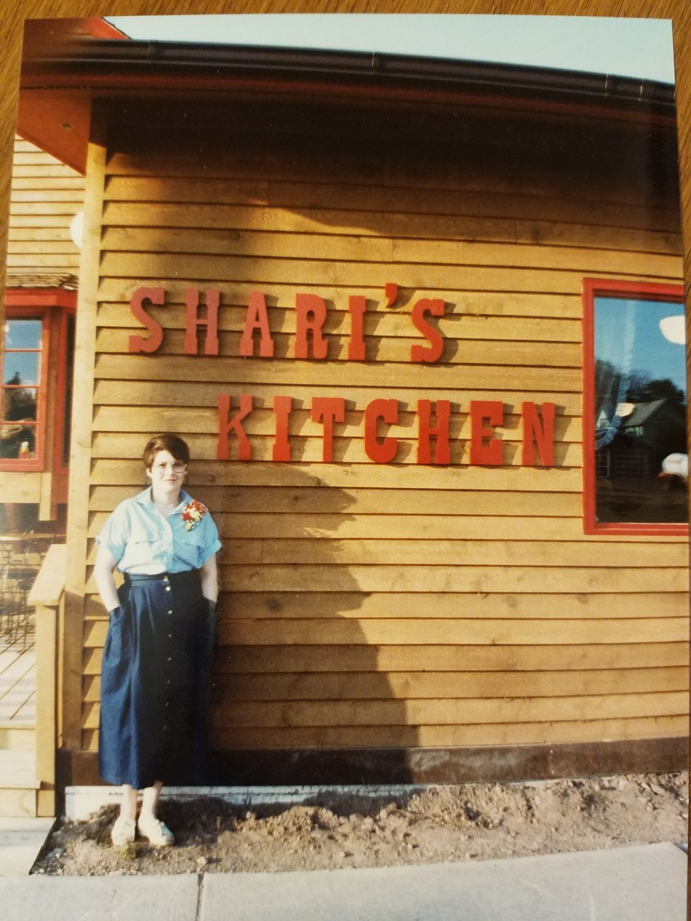 Grandma Sharon opened Shari's Kitchen (now Vanilla Bean) a few years later