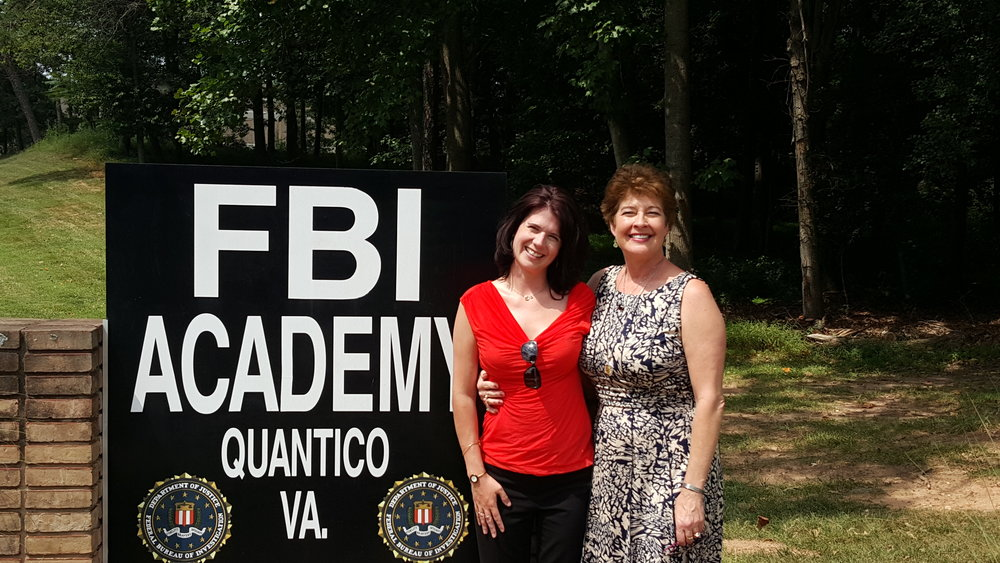 Post-graduation from FBI Academy, August 2015