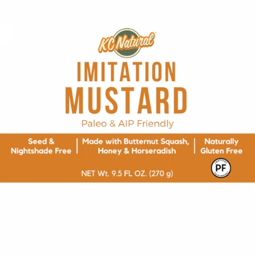 "A preview of our AIP ""mustard"" label!"